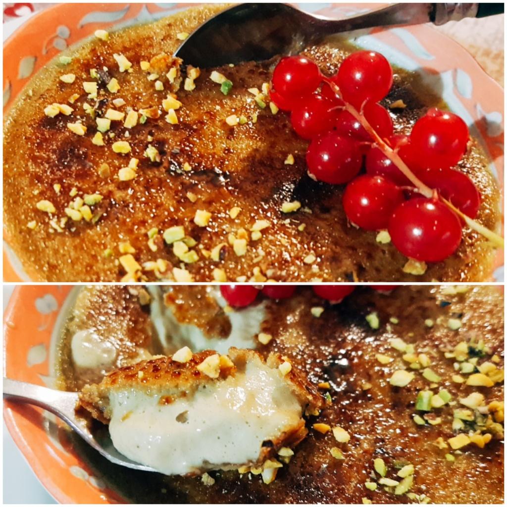 Crème brûlée al Pistacchio